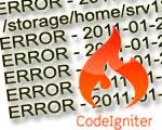 Логирование ошибок в CodeIgniter: отключаем вывод ошибок пользователю и записываем ошибки в лог-файл