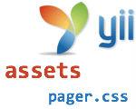 В Yii не подключаются js-скрипты и стили из папки assets (pager.css для пагинации)