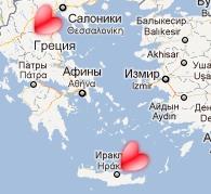 Google Maps: Часть 2. Используем свои значки для меток.