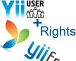 Yii User + Rights: Не работает редактирование пользователем (не админом!) данных своего профиля