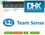 TeamSense: username (логин) в регистрации пользователя. Внедрили библиотеку DHTMLX в TeamSense.