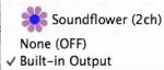 QuickTime не записывает звук при записи видео с экрана