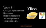 Yiico. Видеокурс по разработке сайта на Yii. Урок 11: Отладка приложения, включаем журналирование.