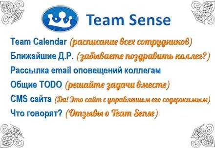 Teamsense - система для работы