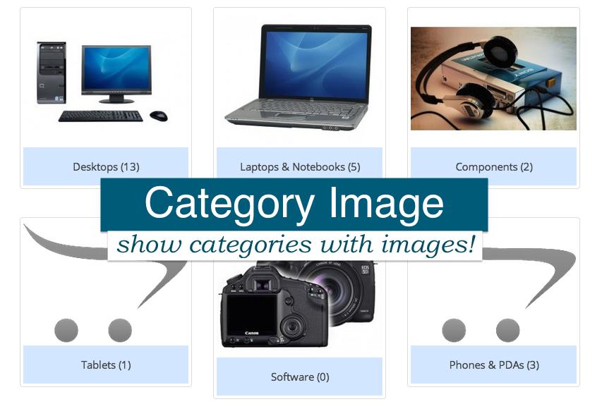 Категории с картинками для Opencart 2